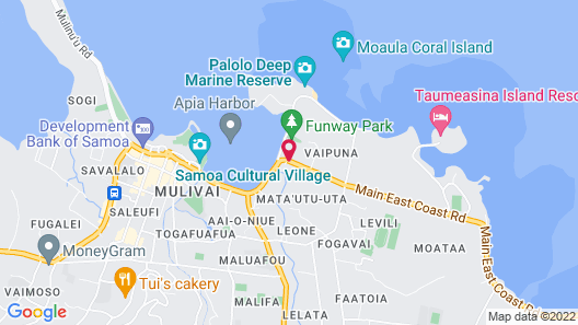 Pasefika Inn Map