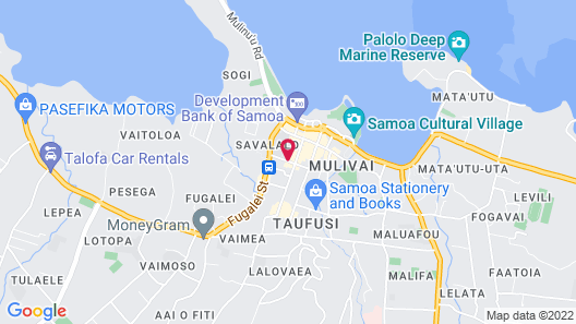 Apia Central Hotel Map