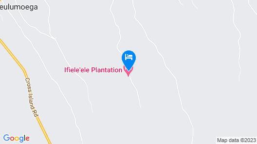 Ifiele'ele Plantation Map