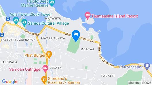 Samoana Boutique Hotel Map