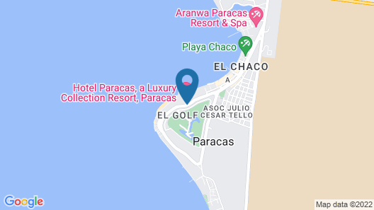 Hotel Paracas, a Luxury Collection Resort, Paracas Map
