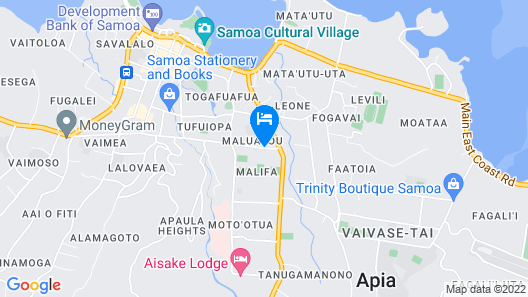 Travellers Point Hotel Map