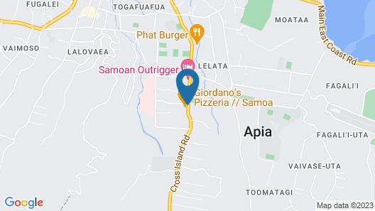 Le Manumea Resort Map