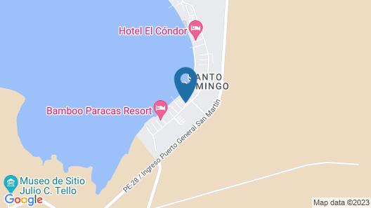 DoubleTree Resort by Hilton Hotel Paracas - Peru Map