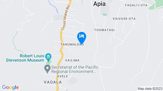 Samoa Rent Apartment House Map