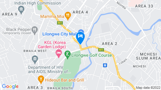 Bridgeview Hotel & Conference Centre Map