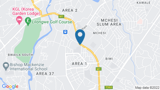 Simama Hotel Map