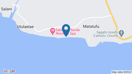 Saletoga Sands Resorts Map