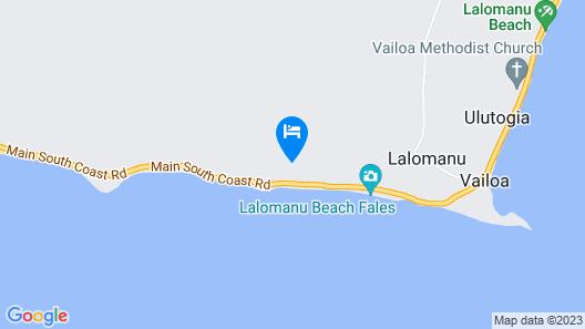 Aga Reef Resort Map