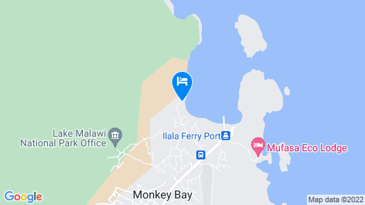 Monkey Bay Beach Lodge Map