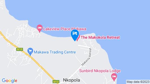 The Makokola Retreat Map