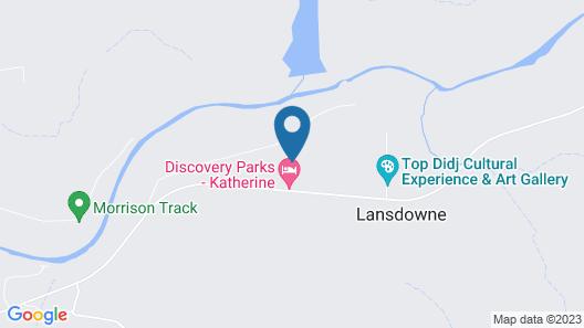 Shady Lane Tourist park Map