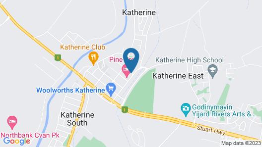 Beagle Motor Inn Map