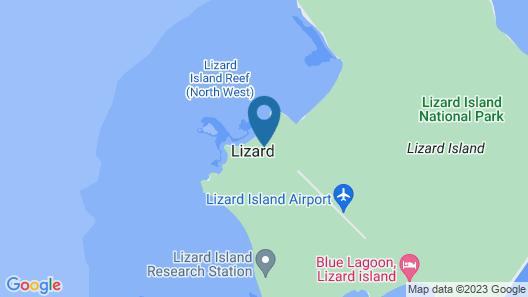 Lizard Island Resort - All Inclusive Map