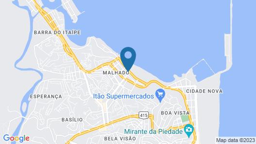 Barravento Praia Hotel Map