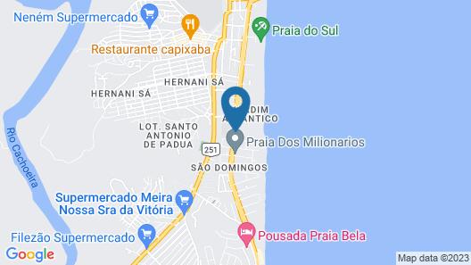 Jardim Atlântico Beach Resort Map