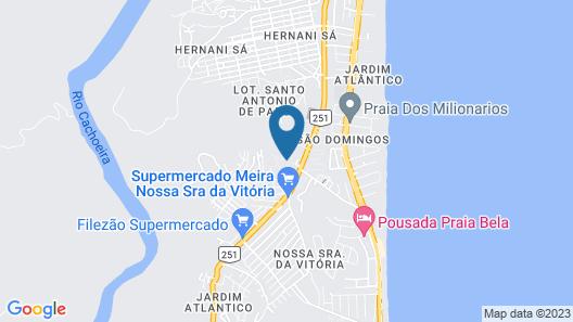 Apartamento Vivendas Map
