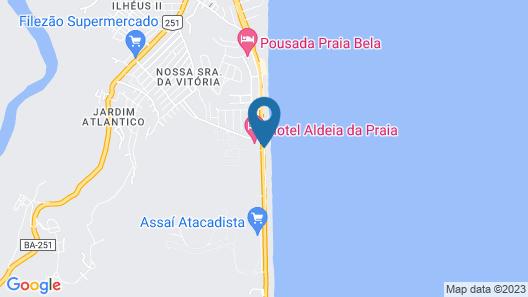 Hotel Aldeia da Praia Map