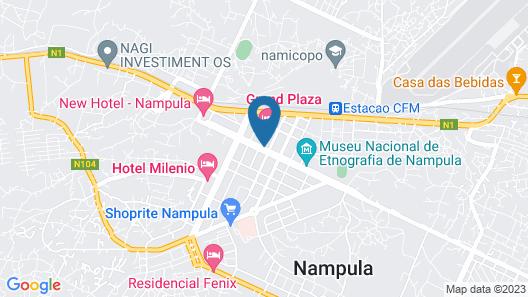 New Hotel - Nampula Map