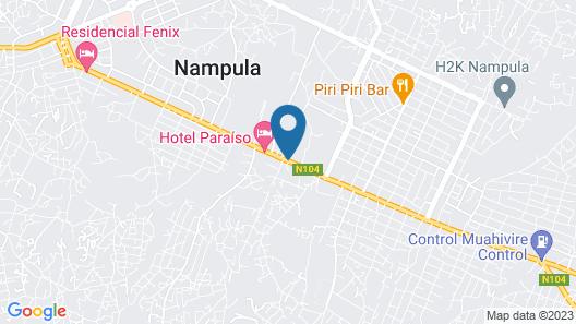 Hotel Paraiso Map