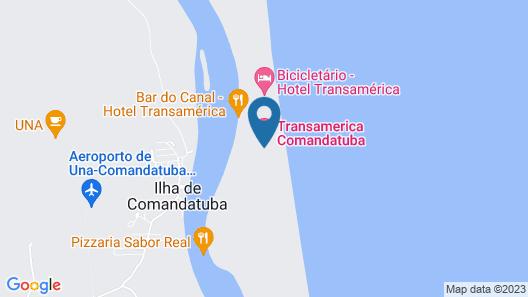 Transamerica Resort Comandatuba – All Inclusive Map