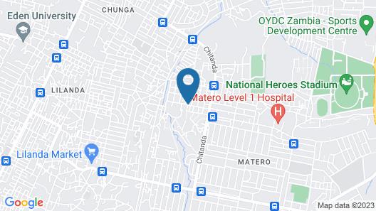 Kakwele Lodge & Tours Map