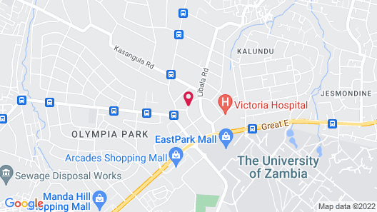 Natwange Backpackers Map