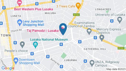 Taj Pamodzi Hotel Map