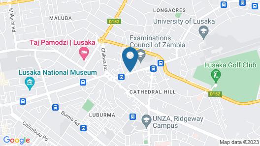 InterContinental Lusaka, an IHG Hotel Map