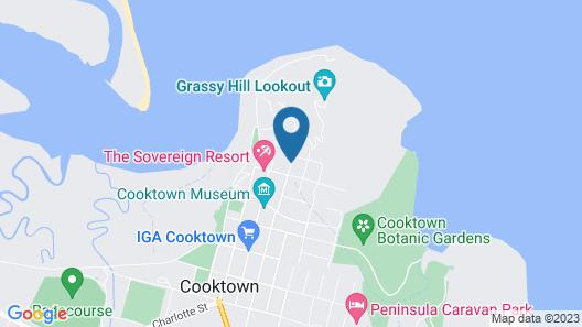 Hillcrest Guest House Cooktown Map