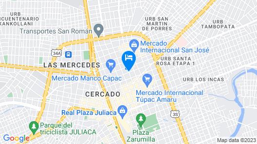 Hostal Zumaki Map