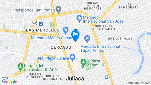 Hostal Aurora Map