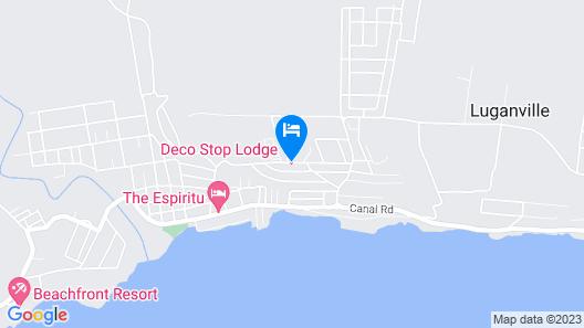Deco Stop Lodge Map