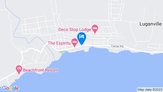 Santo Seaside Villas Map