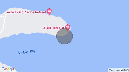 Island View Cottage 1 BR Aore Island Vanuatu Map