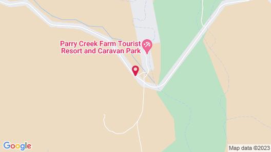 Parry Creek Farm Tourist Resort & Caravan Park Map