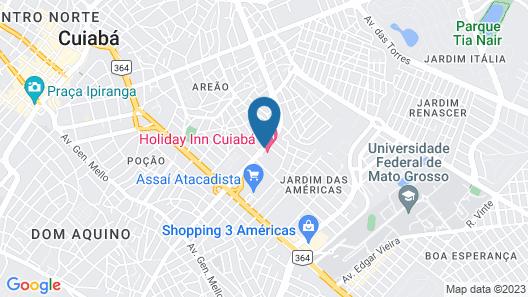 Holiday Inn Cuiabá Map