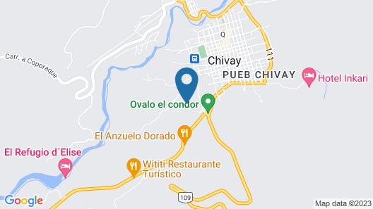 Casa Andina Standard Colca Map
