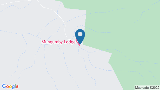 Mungumby Lodge - Cooktown Map