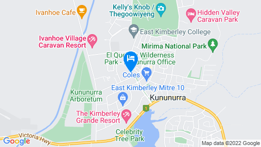 Kununurra Country Club Resort Map