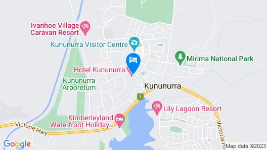 Hotel Kununurra Map