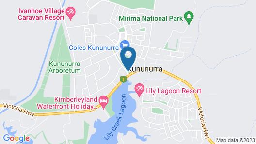 Ibis Styles Kununurra Map