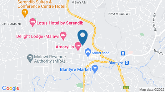 Malawi Sun Hotel & Conference Centre Map