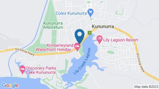 The Kimberley Grande Resort Map
