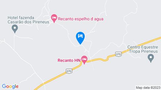 Pousada Recanto dos Manacas Map