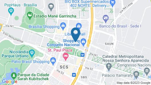 Metropolitan Hotel by Atlantica Map