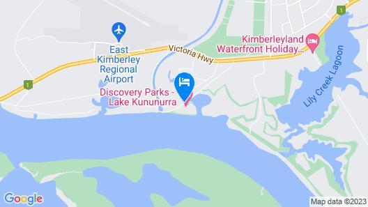 Discovery Parks – Lake Kununurra Map