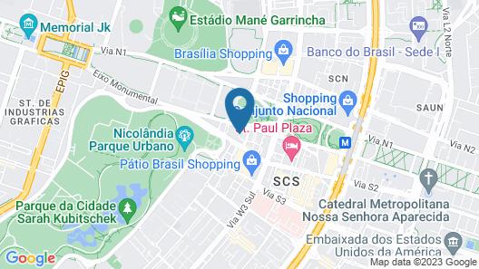 Melia Brasil 21 Map