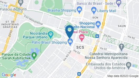Windsor Plaza Brasilia Map