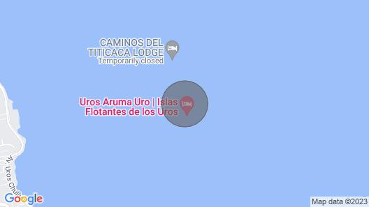 Titicaca Mallku Lodge Map